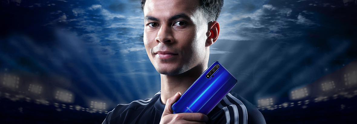 DELE ALLI UNVEILED AS HONOR AMBASSADOR